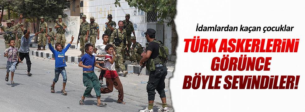 IŞİD zulmünden kaçan çocuklar böyle sevindi!