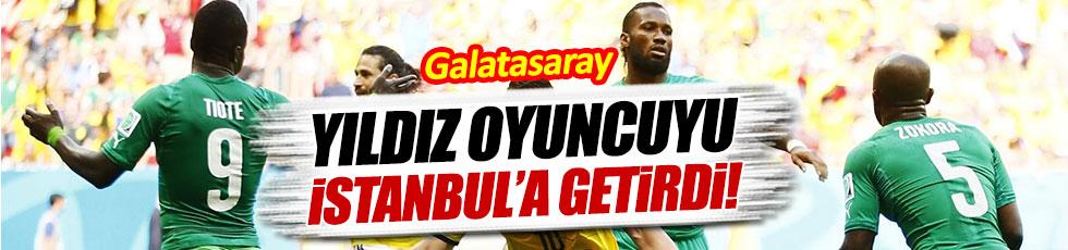 Galatasaray, Cheik Tiote'ye imza attırıyor