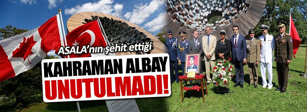 Şehit Albay Atilla Altıkat Ottawa'da törenle anıldı