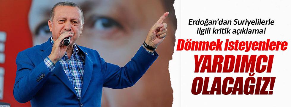 Erdoğan, Suriyeliler ve FETÖ'yle ilgili açıklama yaptı