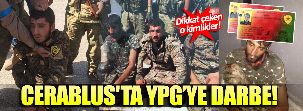 Cerablus'ta YPG'ye ağır darbe