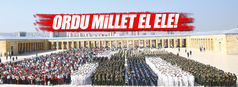 Ordu millet el ele!