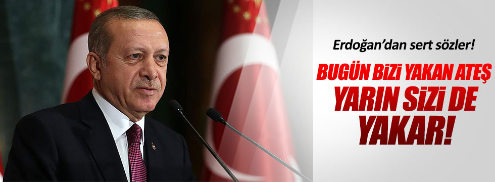 Erdoğan FETÖ'cülere meydan okudu