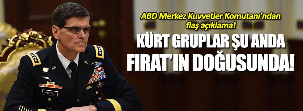 ABD Merkez Kuvvetler Komutanı General Joseph Votel'den kritik açıklama!