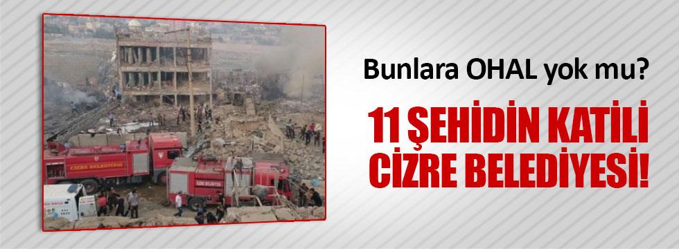 11 polisi şehit eden kamyon Cizre Belediyesi'nin çıktı