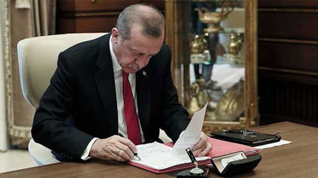 Erdoğan o anlaşmayı onayladı!