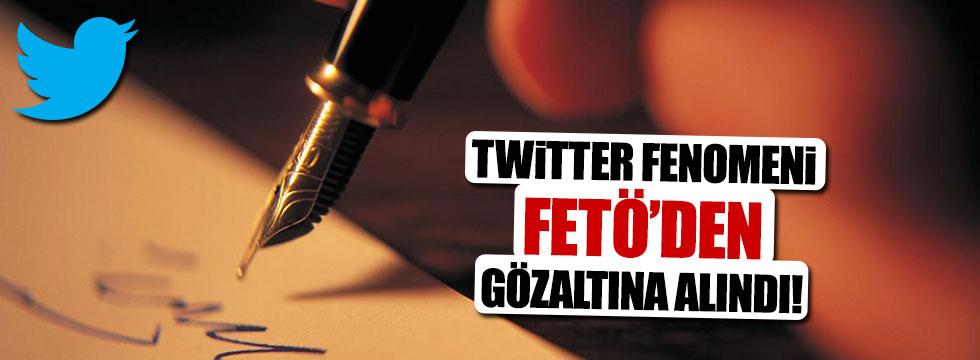 Twitter fenomeni gözaltına alındı!
