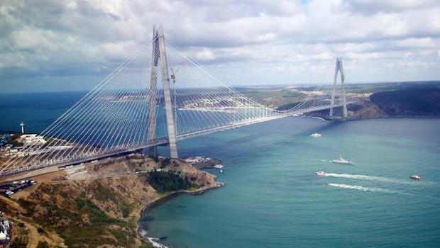 Yavuz Sultan Selim Köprüsü'nde gişeler bozuldu