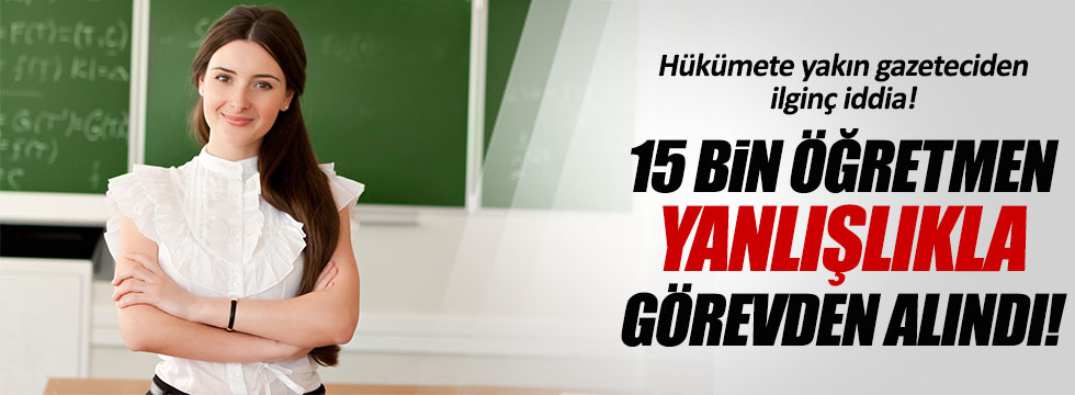 Ahmet Taşgetiren'den kritik iddia!