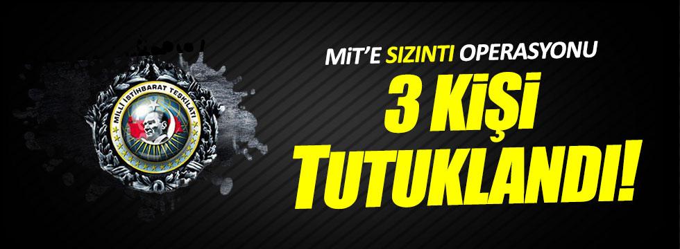 MİT'e FETÖ operasyonu!