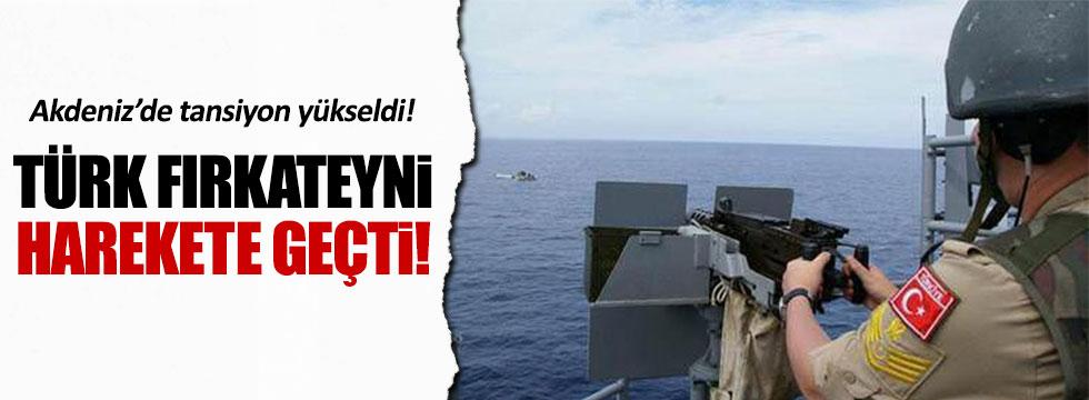 Rum gemisi uzaklaştırıldı!