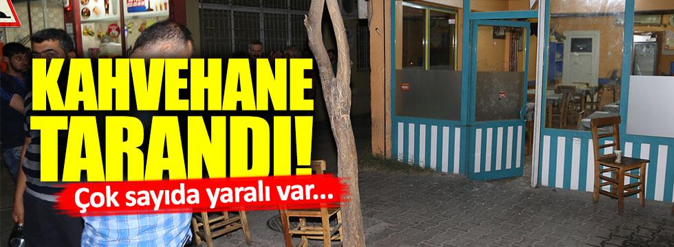 Adana'da kahvehaneye saldırı