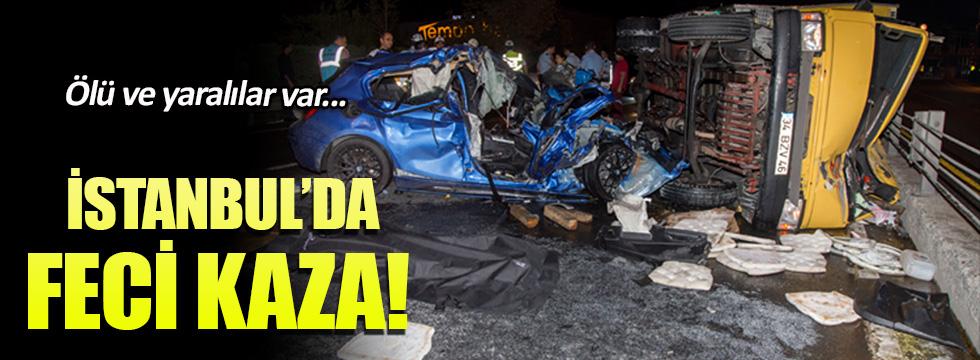 Çağlayan'da trafik kazası: 2 ölü, 2 yaralı