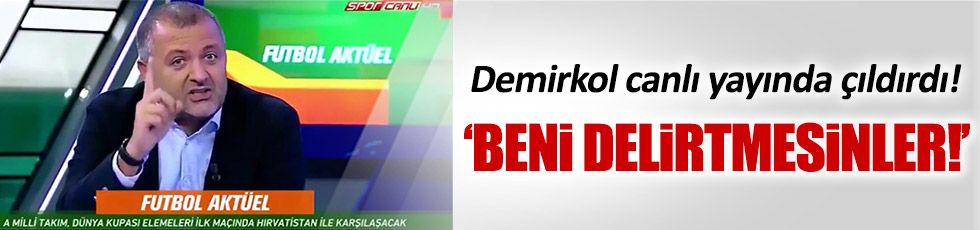 Mehmet Demirkol'dan eleştirilere sert yanıt!