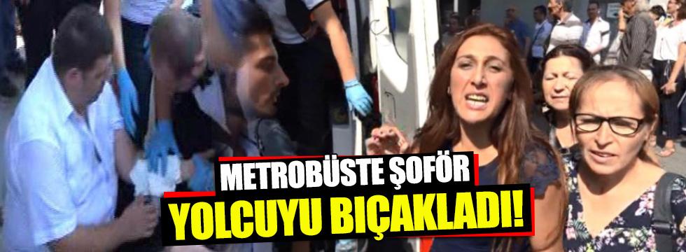 Metrobüste 'klima' tartışması kanlı bitti!