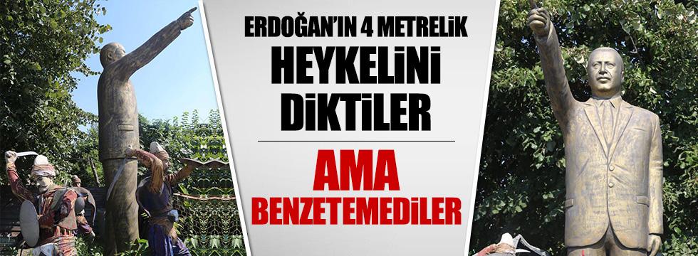 Erdoğan'ın heykeli sahipsiz kaldı
