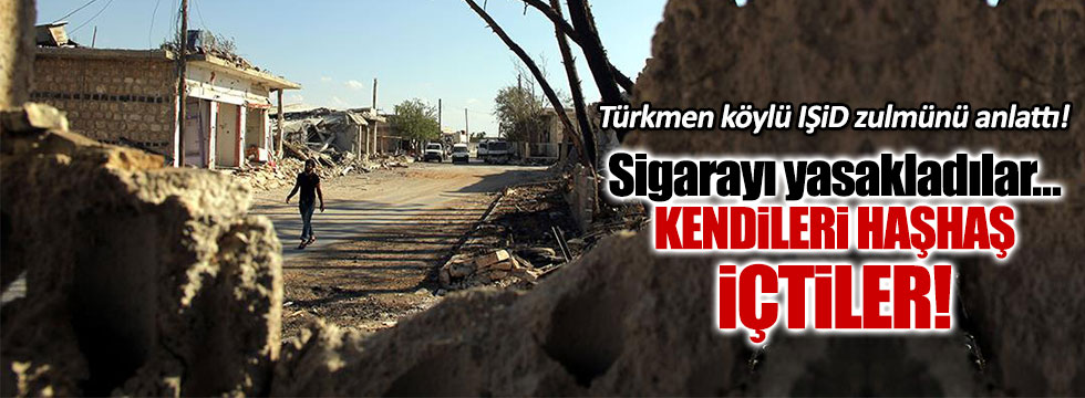 Türkmenler IŞİD zulmünü anlattı