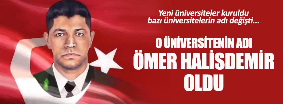 3 üniversite kuruldu, 2 üniversitenin adı değişti