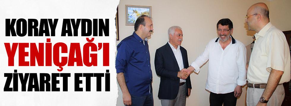 MHP Genel Başkan Adayı Koray Aydın Yeniçağ'ı ziyaret etti