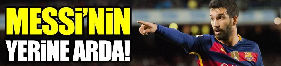 Taraftar Messi'nin yerine Arda dedi!