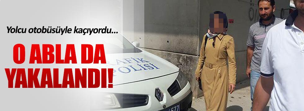 FETÖ'nün 'Bursa Ablası' otobüste yakalandı
