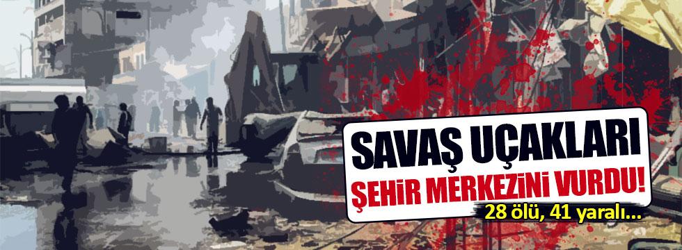 Esed İdlib'i vurdu: 28 ölü, 41 yaralı