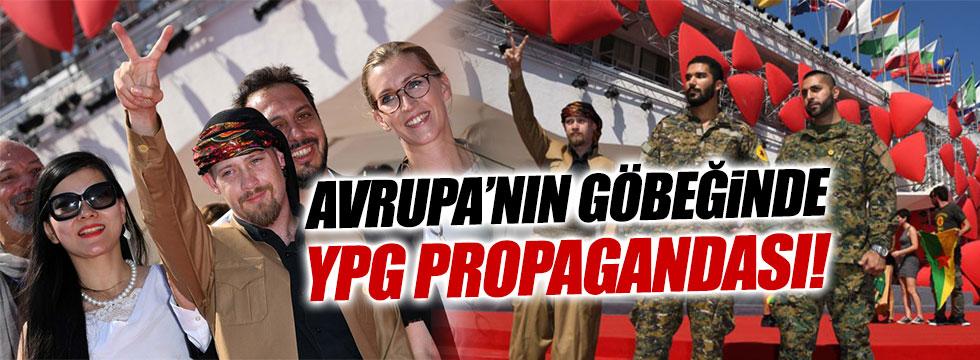 Venedik'te YPG propagandası
