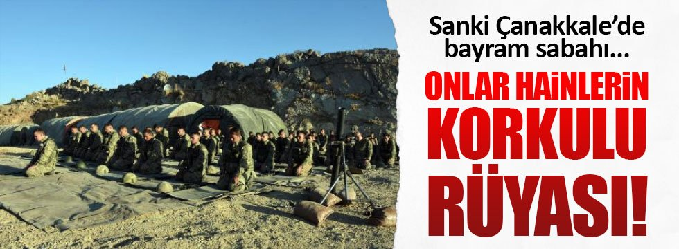 PKK'dan temizlenen Kaletepe'de bayram