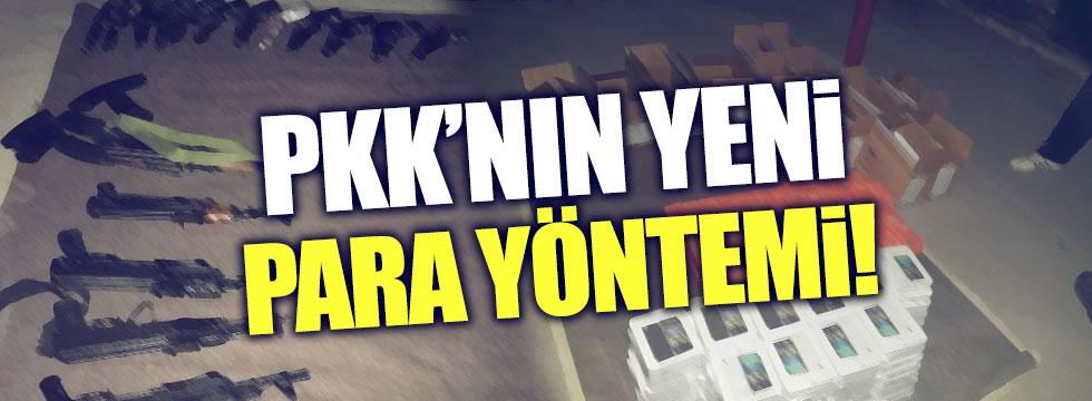PKK telefon kaçakçılığı da yapıyor