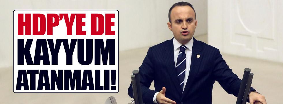 """""""HDP'ye de kayyum atanmalı"""""""