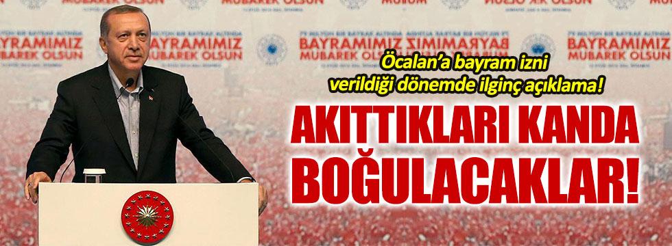 Erdoğan'dan ilginç terör açıklaması