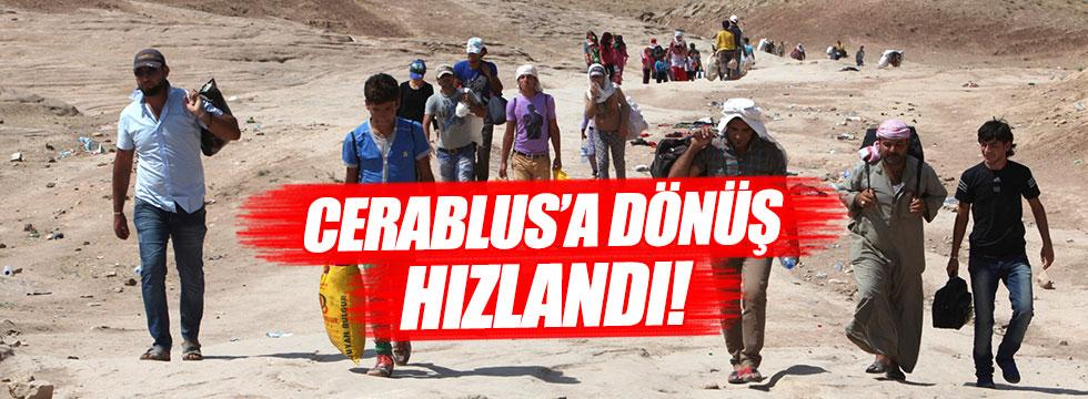 Cerablus'un nüfusu 3 bin 500'den 25 bine yükseldi