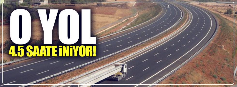Ankara – İzmir arası 4.5 saate iniyor