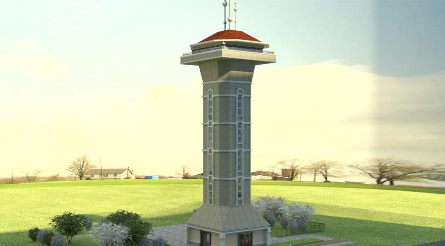 İstanbul'a yeni yangın kulesi