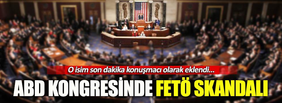 ABD'de Türkiye oturumuna FETÖ'cü isim son anda eklendi