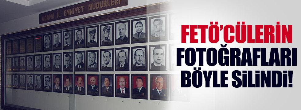 FETÖ'den tutuklanan müdürlerin fotoğrafları söküldü