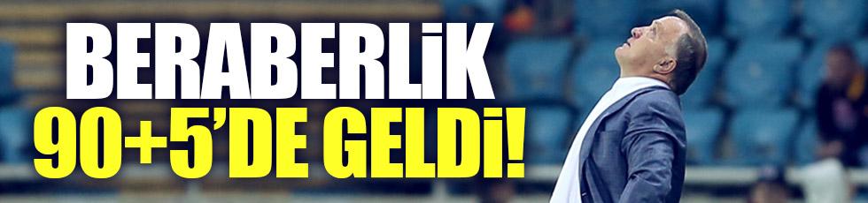 Fenerbahçe 90+5'de 1 puanı aldı
