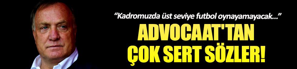 Advocaat'tan Fenerbahçeli futbolcularına şok sözler!