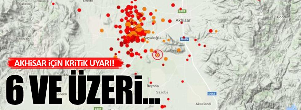 Akhisar ile ilgili çok çarpıcı 'deprem' uyarısı