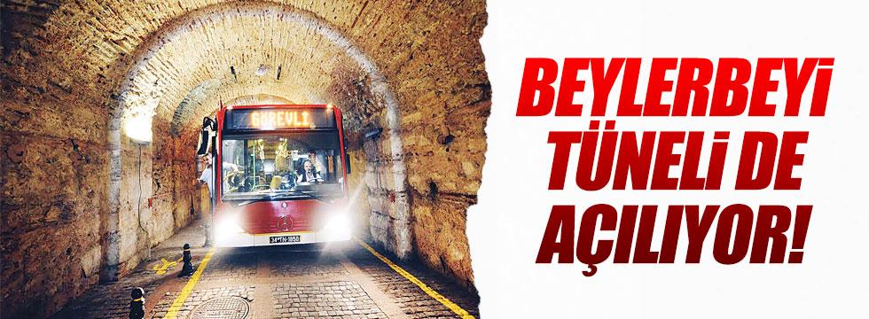 Beylerbeyi tüneli trafiğe açılıyor