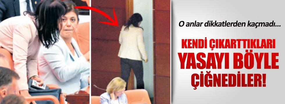 Meclis'te kaçak sigara odası!