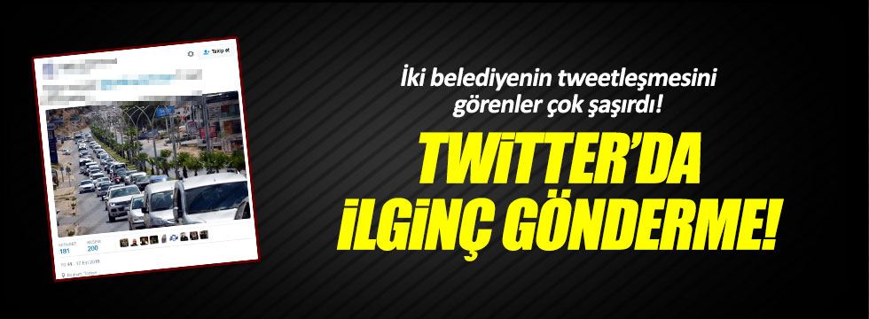 Bodrum Belediyesi'nin tweeti gündem oldu