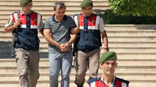Askeri kampa tatile gelen albaya gözaltı!