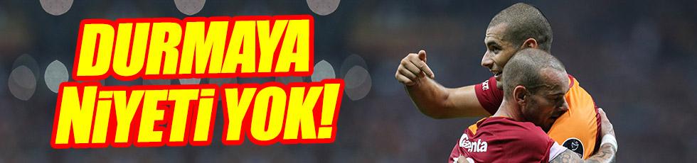 Galatasaray Çaykur Rizespor'u rahat geçti