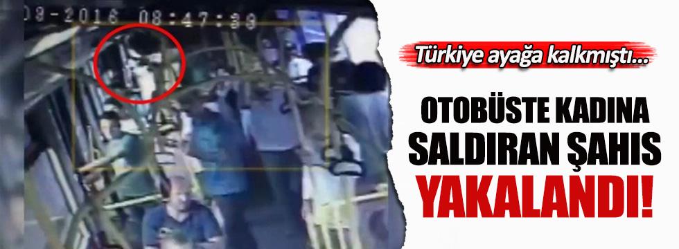 Hemşireye otobüste tekme atan saldırgan yakalandı