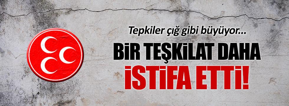 MHP Tomarza İlçe Teşkilatı istifa etti