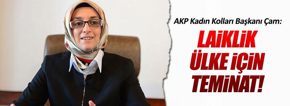 AKP'li Selva Çam: Laiklik ülke için teminat