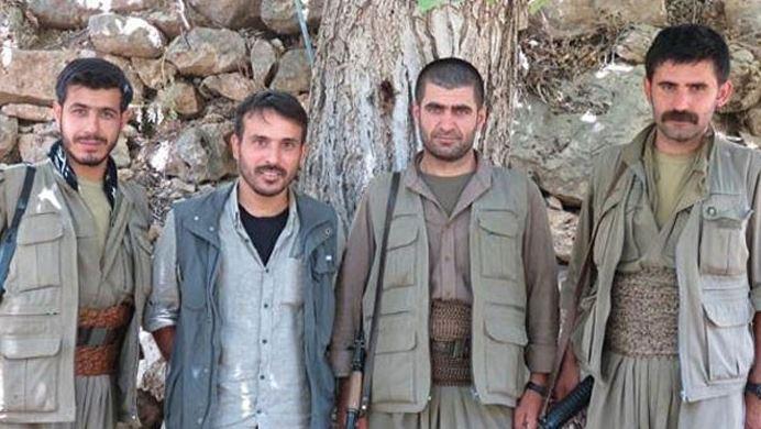 O PKK'lılar Kandil'de çıktı!