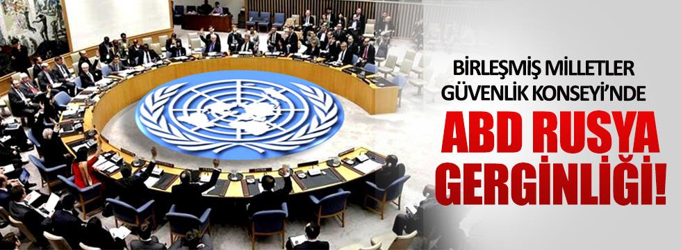 Birleşmiş Milletler Güvenlik Konseyi'nde gerginlik