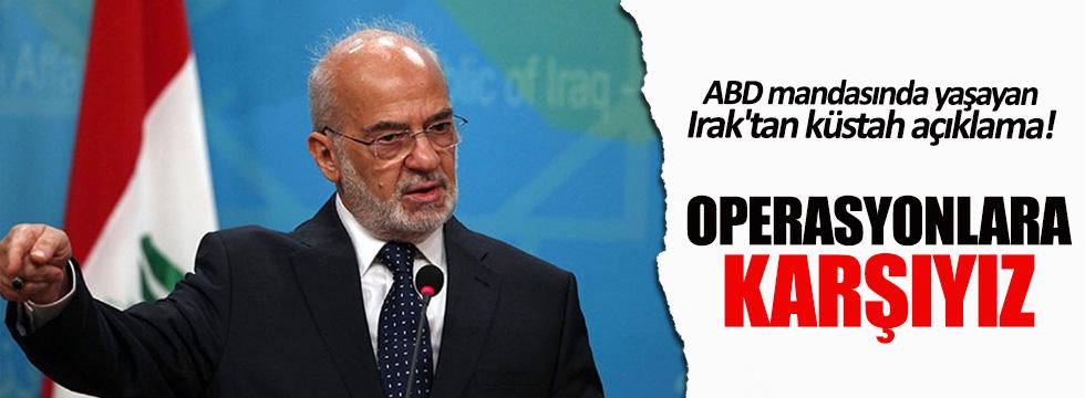 Irak Dışişleri Bakanı Caferi'den küstah Türkiye açıklaması